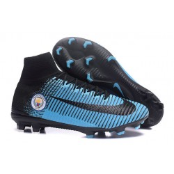 Botas de Fútbol Nike Mercurial Superfly 5 DF FG Manchester City FC Azul