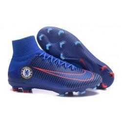 Botas de Fútbol Nike Mercurial Superfly 5 DF FG Chelsea FC Azul