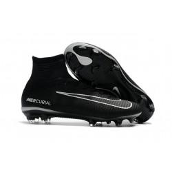 Nike Mercurial Superfly V DF FG Zapatillas de Fútbol - Negro