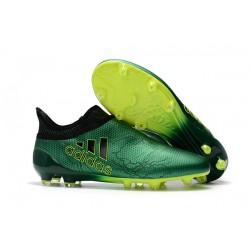 adidas X 17+ Purespeed FG Nuevo Zapatos de fútbol - Verde