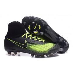 Nike Nuevo Botas de Futbol Magista Obra 2 FG - Negro Verde