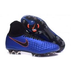 Nike Nuevo Botas de Futbol Magista Obra 2 FG - Azul Profundo