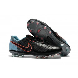 Nike Tiempo Legend VII FG Canguro Botas de Futbol - Negro Azul