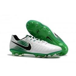 Nike Tiempo Legend VII FG Canguro Botas de Futbol - Blanco Verde