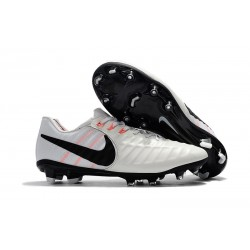 Nuevo Botas de Fútbol Nike Tiempo Legend 7 FG - Blanco Negro