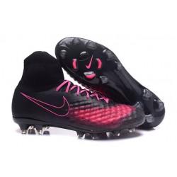 Nike Nuevo Botas de Futbol Magista Obra 2 FG - Negro Rosa