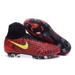 Nike Nuevo Botas de Futbol Magista Obra 2 FG - Rojo Amarillo
