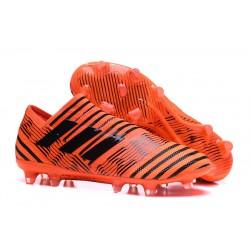 Nuevas Botas de Fubol Adidas Nemeziz Messi 17+ 360Agility FG Naranja Negro