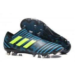 Bota de fútbol adidas Nemeziz Messi 17+ 360 Agility FG - Azul Negro Amarillo