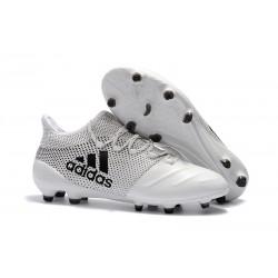 Botas de Fútbol Hombre adidas X 17.1 Fg - Blanco Negro