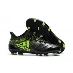 adidas X 17.1 Fg Nuevo Zapatillas de Futbol - Negro Verde