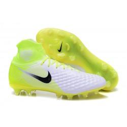 Nike Magista Obra II FG ACC Hombres Botas de Fútbo - Negro Verde