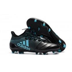 adidas X 17.1 Fg Nuevo Zapatillas de Futbol - Negro Azul