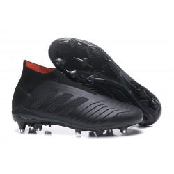 Bota de Fútbol para Hombre Adidas Predator 18+ FG - Negro