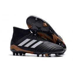 Botas de Fútbol Adidas Predator 18.1 Fg para Hombre - Negro Blanco