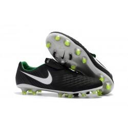 Nike Magista Opus II FG Zapatillas de Futbol - Negro Blanco