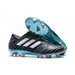 adidas Nemeziz Messi 17+ 360 Agility FG Zapatillas de Futbol - Negro Azul Blanco
