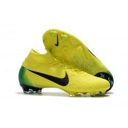 Botas de fútbol Nike Mercurial Superfly 6 Elite para adultos Amarillo Negro