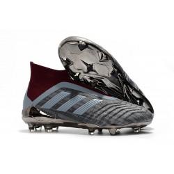 Paul Pogba adidas PP Predator 18+ FG 2018 Gris Rojo