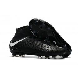 Nike Hypervenom Phantom III DF FG Zapatillas de Fulbol Negro Blanco