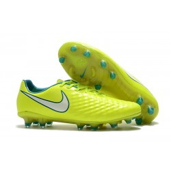 Nike Magista Opus Ii Tc Fg Botas de Fútbol para Hombre - Amarillo