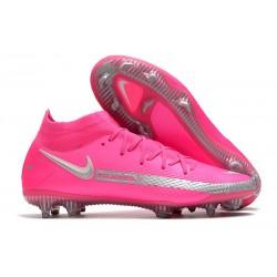 Botas de Fútbol Nike Phantom GT Elite FG Rosa Metal