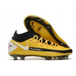 Nike Zapatos Nuevo Phantom GT Elite DF FG Amarillo Negro Blanco