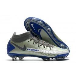 Nike Zapatos Nuevo Phantom GT Elite DF FG Gris Azul