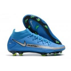 Nike Zapatos Nuevo Phantom GT Elite DF FG Azul Metal