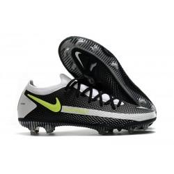 Botas de Fútbol Nike Phantom GT Elite FG Negro Gris Verde