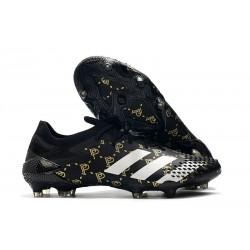 Bota adidas Predator Mutator 20.1 Low Cut FG Paul Pogba Negro Gris