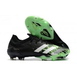 Bota adidas Predator Mutator 20.1 Low Cut FG Negro Blanco Verde