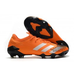 adidas Predator Mutator 20.1 Low Cut FG Pop Negro Blanco