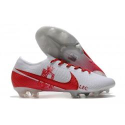 Botas Nike Mercurial Vapor 13 Elite FG LFC Blanco Rojo