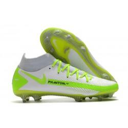 Nike Zapatos Nuevo Phantom GT Elite DF FG Blanco Verde