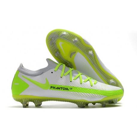 Nike Phantom Generative Texture GT Elite FG Bianco Verde