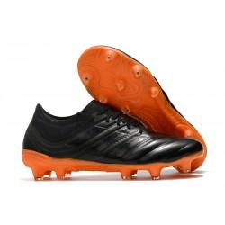 adidas Copa 19.1 FG Nuevas Zapatos de Fútbol - Negro Naranja