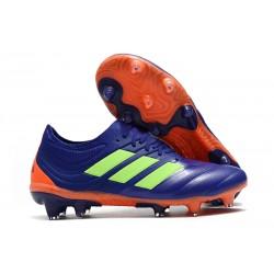 adidas Copa 19.1 FG Nuevas Zapatos de Fútbol - Violeta Verde