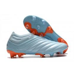 Zapatillas adidas Copa 20+ FG Cielo Tinta Azul Royal Signal Coral