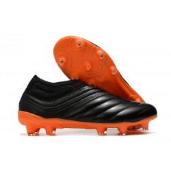 Zapatillas de Futbol adidas Copa 20+ FG Negro Naranja
