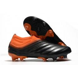 Zapatillas adidas Copa 20+ FG Signal Coral Negro Rojo Gloria