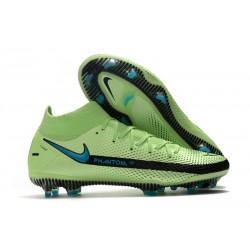 Nike Zapatos Nuevo Phantom GT Elite DF FG Verde Negro Azul