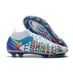 Nike Zapatos Nuevo Phantom GT Elite DF 3D FG Blanco Azul Rosa Amarillo