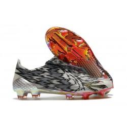 Botas de Fútbol adidas X Ghosted + FG Negro Blanco Rosso