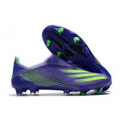 Botas de Fútbol adidas X Ghosted + FG Tinta Energía Verde