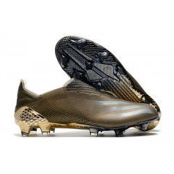 Botas de Fútbol adidas X Ghosted + FG Camel