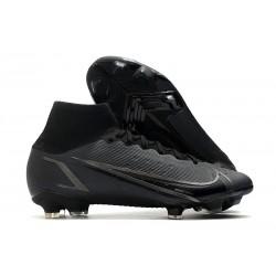 Botas de fútbol Nike Mercurial Superfly VIII Elite FG Negro