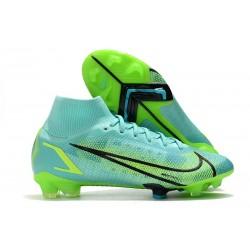 Botas de fútbol Nike Mercurial Superfly VIII Elite FG Turquesa Lima
