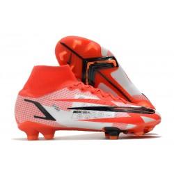 Ronaldo Nike Mercurial Superfly VIII Elite FG Chile Rojo Negro Blanco Naranja