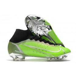 Botas de fútbol Nike Mercurial Superfly VIII Elite FG Verde Metal